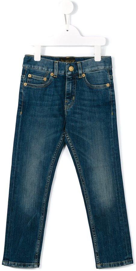 dunkelblaue Jeans von Finger In The Nose