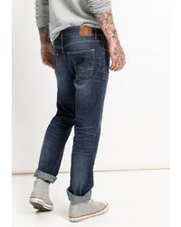 dunkelblaue Jeans von HIS JEANS