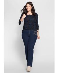 dunkelblaue Jeans von Joe Browns