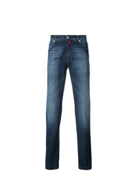 dunkelblaue Jeans von Kiton