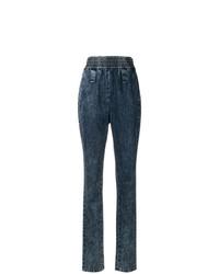 dunkelblaue Jeans von Miu Miu