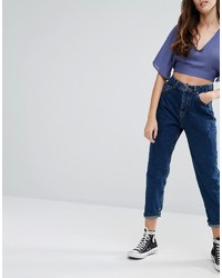 dunkelblaue Jeans von Pull&Bear