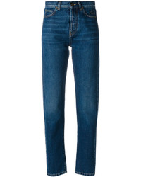 dunkelblaue Jeans von Saint Laurent