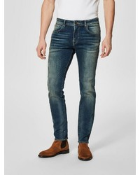 dunkelblaue Jeans von Selected Homme