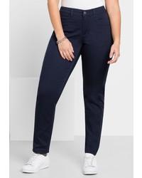 dunkelblaue Jeans von SHEEGO CASUAL