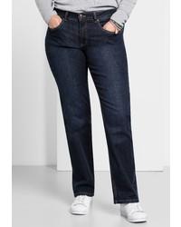dunkelblaue Jeans von SHEEGO DENIM