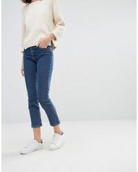 Dunkelblaue Jeans von Warehouse