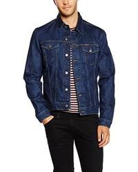 dunkelblaue Jeansjacke von Carrera