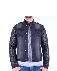dunkelblaue Jeansjacke von Cipo & Baxx
