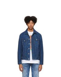 dunkelblaue Jeansjacke von Diesel