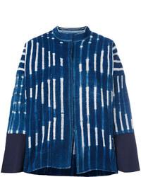dunkelblaue Jeansjacke von Forte Forte