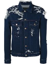 dunkelblaue Jeansjacke von Golden Goose Deluxe Brand