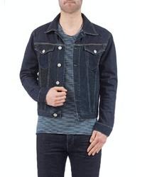 dunkelblaue Jeansjacke von Herrlicher
