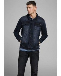 dunkelblaue Jeansjacke von Jack & Jones