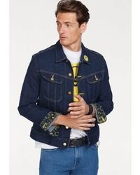 dunkelblaue Jeansjacke von Lee