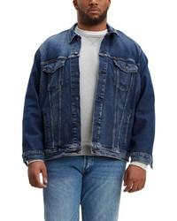 dunkelblaue Jeansjacke von Levi´s® Big and Tall