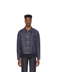 dunkelblaue Jeansjacke von Levis Vintage Clothing