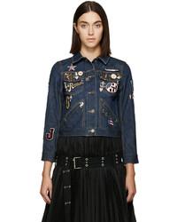 dunkelblaue Jeansjacke von Marc Jacobs