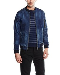 dunkelblaue Jeansjacke von Pepe Jeans