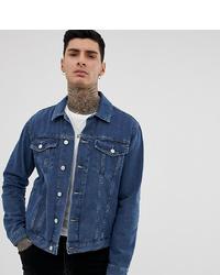 dunkelblaue Jeansjacke von Reclaimed Vintage