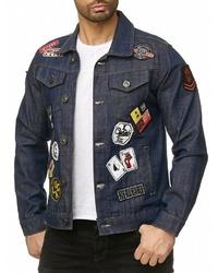dunkelblaue Jeansjacke von Redbridge