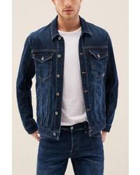 dunkelblaue Jeansjacke von SALSA