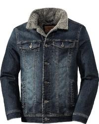dunkelblaue Jeansjacke von Tom Ramsey