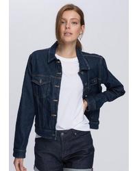 dunkelblaue Jeansjacke von Tommy Hilfiger