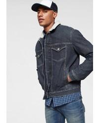 dunkelblaue Jeansjacke von Tommy Jeans