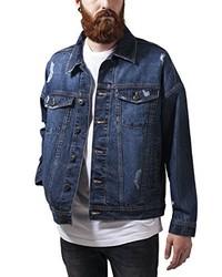 dunkelblaue Jeansjacke von Urban Classics