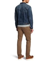 dunkelblaue Jeansjacke von Wrangler