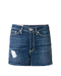 dunkelblaue Jeansshorts von Dondup