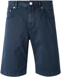dunkelblaue Jeansshorts von Jacob Cohen