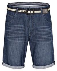 dunkelblaue Jeansshorts von Jan Vanderstorm