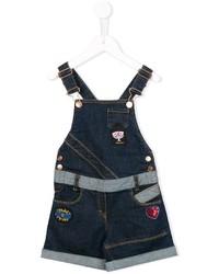 dunkelblaue Jeansshorts von Little Marc Jacobs