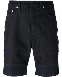 dunkelblaue Jeansshorts von Neil Barrett