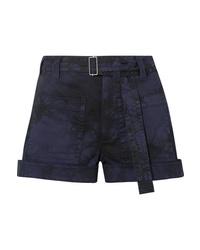 dunkelblaue Jeansshorts von Proenza Schouler