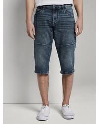 dunkelblaue Jeansshorts von Tom Tailor