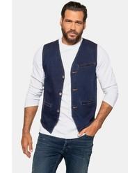 dunkelblaue Jeansweste von JP1880