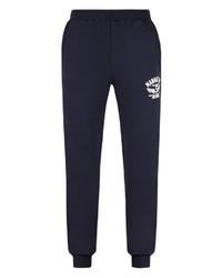 dunkelblaue Jogginghose von AHORN SPORTSWEAR