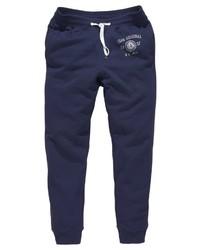 dunkelblaue Jogginghose von Izod