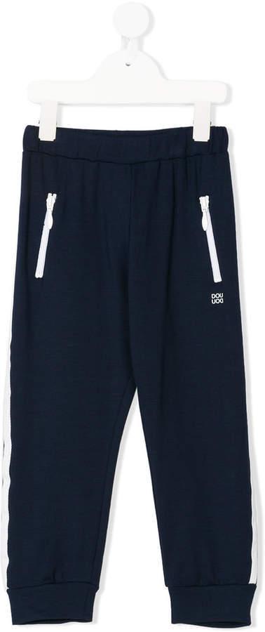 dunkelblaue Jogginghose