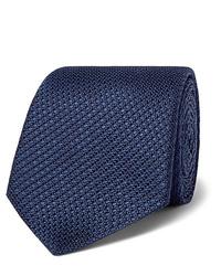 dunkelblaue Krawatte von Canali