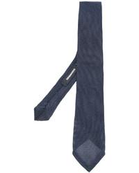 dunkelblaue Krawatte von DSQUARED2
