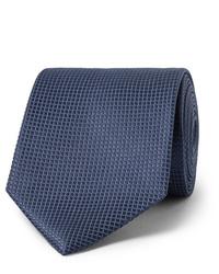 dunkelblaue Krawatte von Ermenegildo Zegna