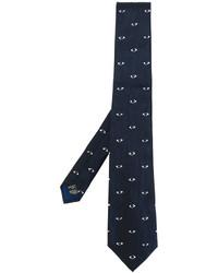 dunkelblaue Krawatte von Kenzo