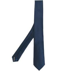 dunkelblaue Krawatte von Salvatore Ferragamo