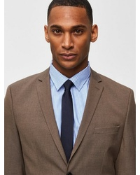 dunkelblaue Krawatte von Selected Homme