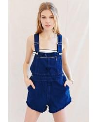 neuer Stil von 2019 Neuankömmlinge Original kaufen Dunkelblaue kurze Latzhose aus Jeans kombinieren (20 ...