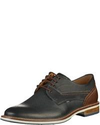 dunkelblaue Leder Derby Schuhe von FRETZ men